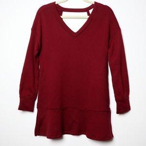 Caslon | NEW Soft Peplum Sweat Shirt